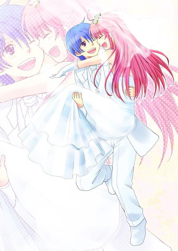 Yui And Hinata Angel Beats Shameless Shipp...